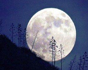 Månen representerar silver